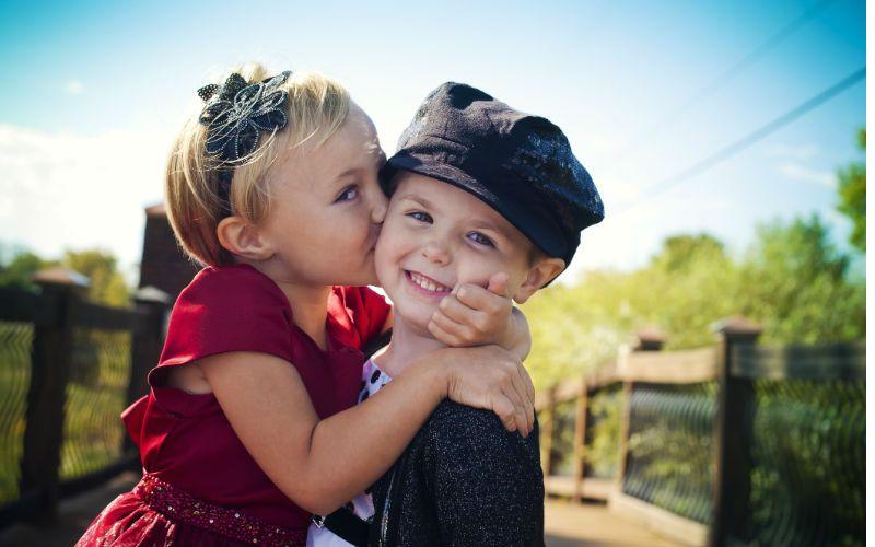 Детская влюбленность – это новый, серьезный этап развития ребенка