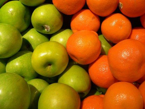 Домашние маски: яблочные, цитрусовые