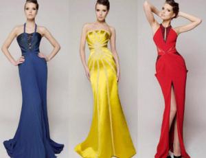 Актуальные вечерние платья 2014 года