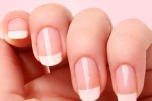 Отбеливание ногтей: народные и косметические средства