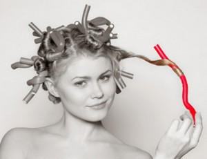 Правила укладки волос на бигуди