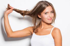 Уход за корнями волос