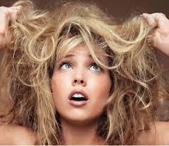 Поврежденные и сухие волосы