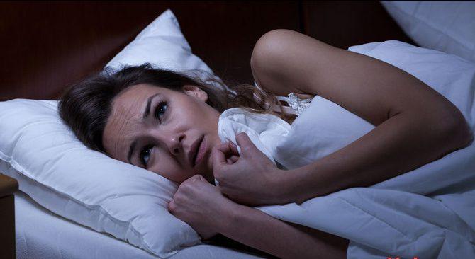 Причина бессонницы – менструальный цикл