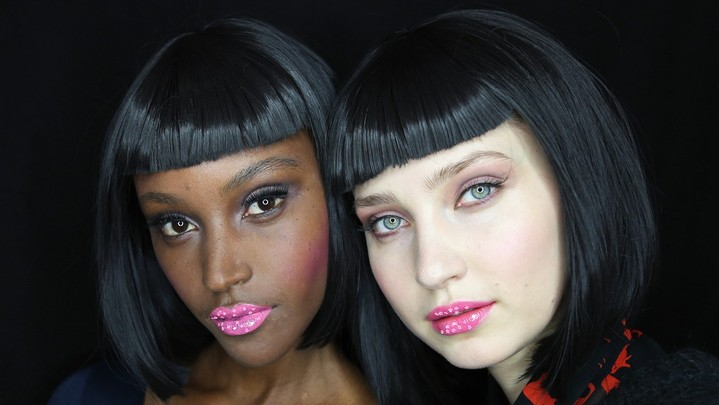 Новый тренд: звезды на губах