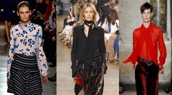 Модные женские блузки для лета