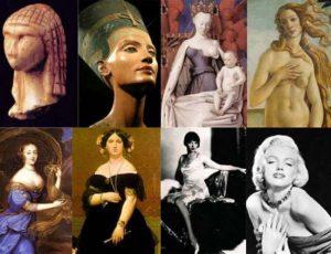 Как менялась женская красота на протяжении эпох?