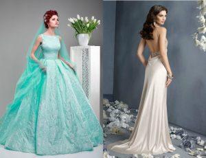 Свадебное платье. Нетрадиционные расцветки свадебного платья