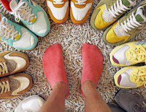 Появляется все больше и больше видов спортивной обуви