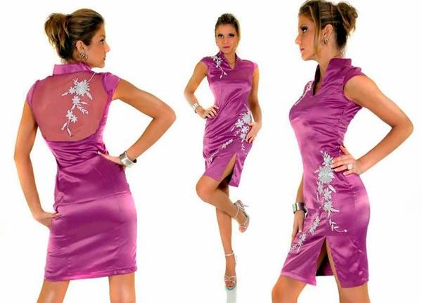 Платья в китайском стиле на все случаи жизни