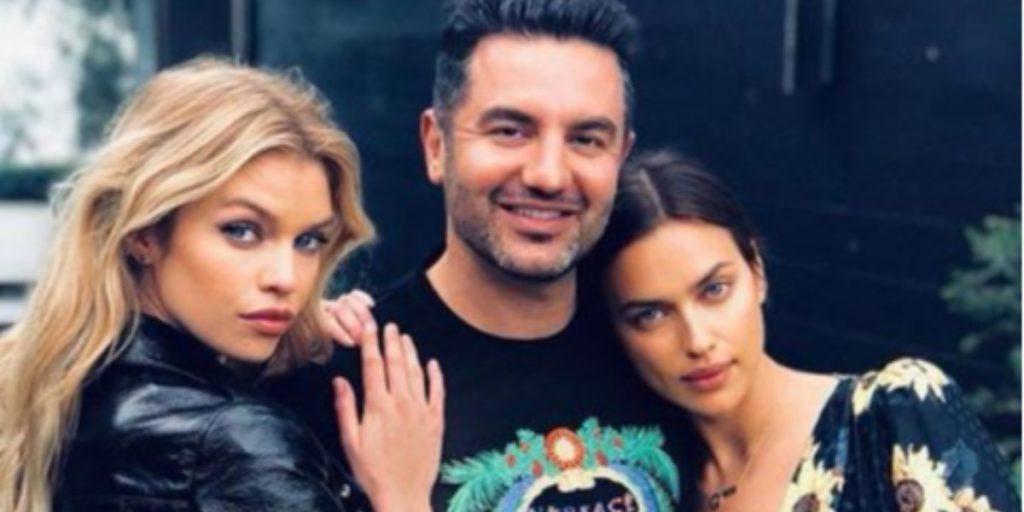 Ирина Шейк и Стелла Максвелл снялись для совместного проекта