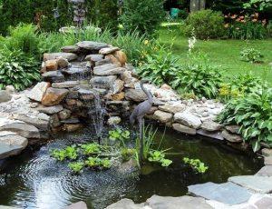 Как качественно и экономно построить фонтан