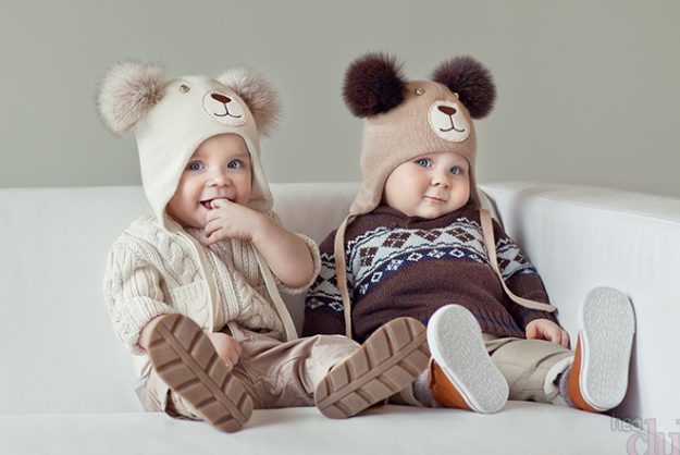 Детская вязаная одежда из натуральной шерсти