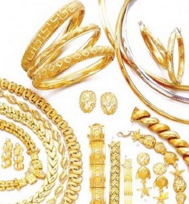 Стильные штучки: украшения из желтого золота