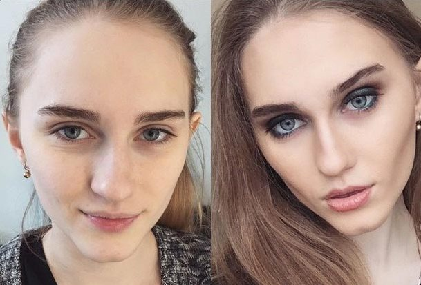 Великая сила макияжа