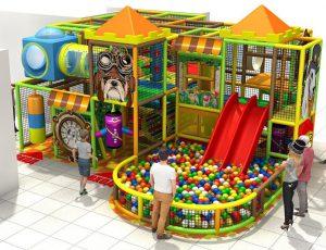 Занимательное оборудование для детских игровых комнат