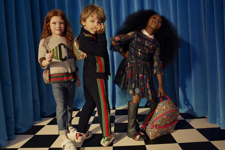 На Net-a-porter появилась детская коллекция Gucci