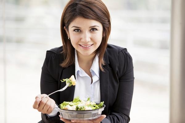 Как питаться бизнес-леди