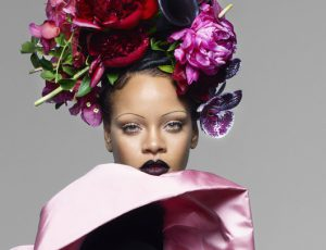 На обложке сентябрьского Vogue UK появится Рианна