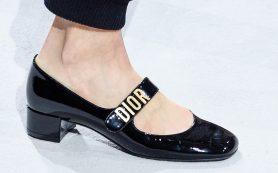 Обувь на Неделе моды в Париже, которую вы будете носить весной