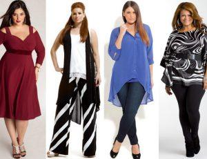 Мода для пышнотелых дам тоже существует!