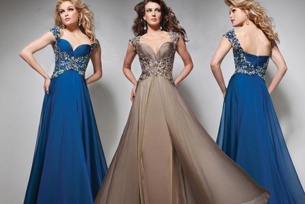 Вечерние платья должны быть в гардеробе каждой девушки