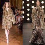 Топ-модели показывают, как носить леопардовый принт