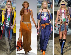Стиль хиппи в одежде
