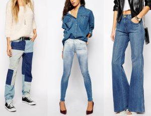 Модные тенденции в джинсовой одежде