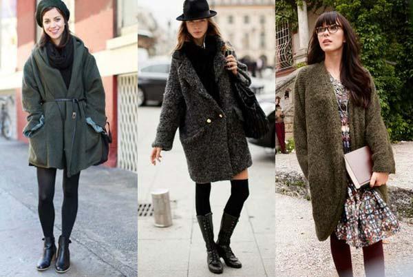 Пальто футляр на каждый день. Советы по выбору