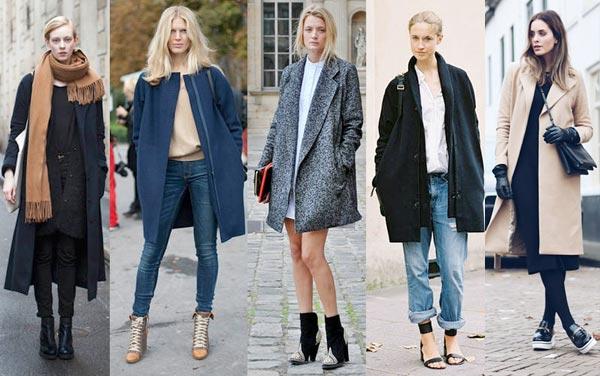 Пальто способно подружиться почти с любой одеждой