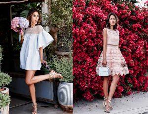 Платья на лето: актуальные силуэты и фактуры