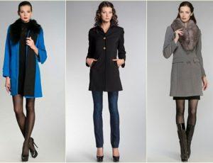Женское пальто осень зима