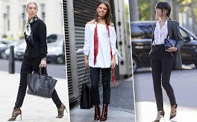 Почему черные брюки скинни нужны всем