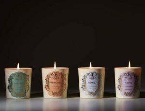 Santa Maria Novella выпустили свечи для утра, дня, вечера и ночи