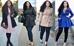 Как выбирать пальто полным девушкам