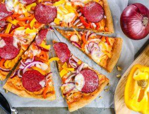 Пицца с болгарским перцем