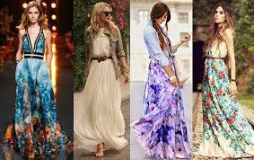 С чем носить платье макси этим летом
