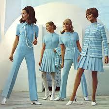 Как модные девушки одевались в 1970-е