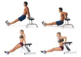 Упражнение дня: обратные отжимания