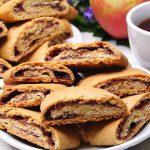 Рецепт рассыпчатого печенья с орехами и пряностями