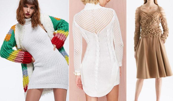 Вязаные платья — отличный выбор для лета