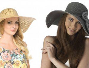 Модные женские головные уборы для лета
