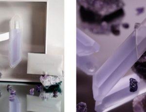Фиолетовый кристалл: новый аромат Crystal Violet Ким Кардашьян