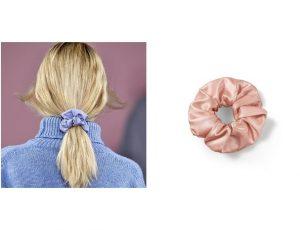 Шелковые скранчи: как модный аксессуар спасет волосы от сечения