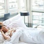 Белое постельное белье: влияние на сон