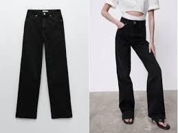 Актуальные черные джинсы, которые стройнят
