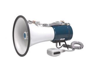 Переносной портативный громкоговоритель с микрофоном