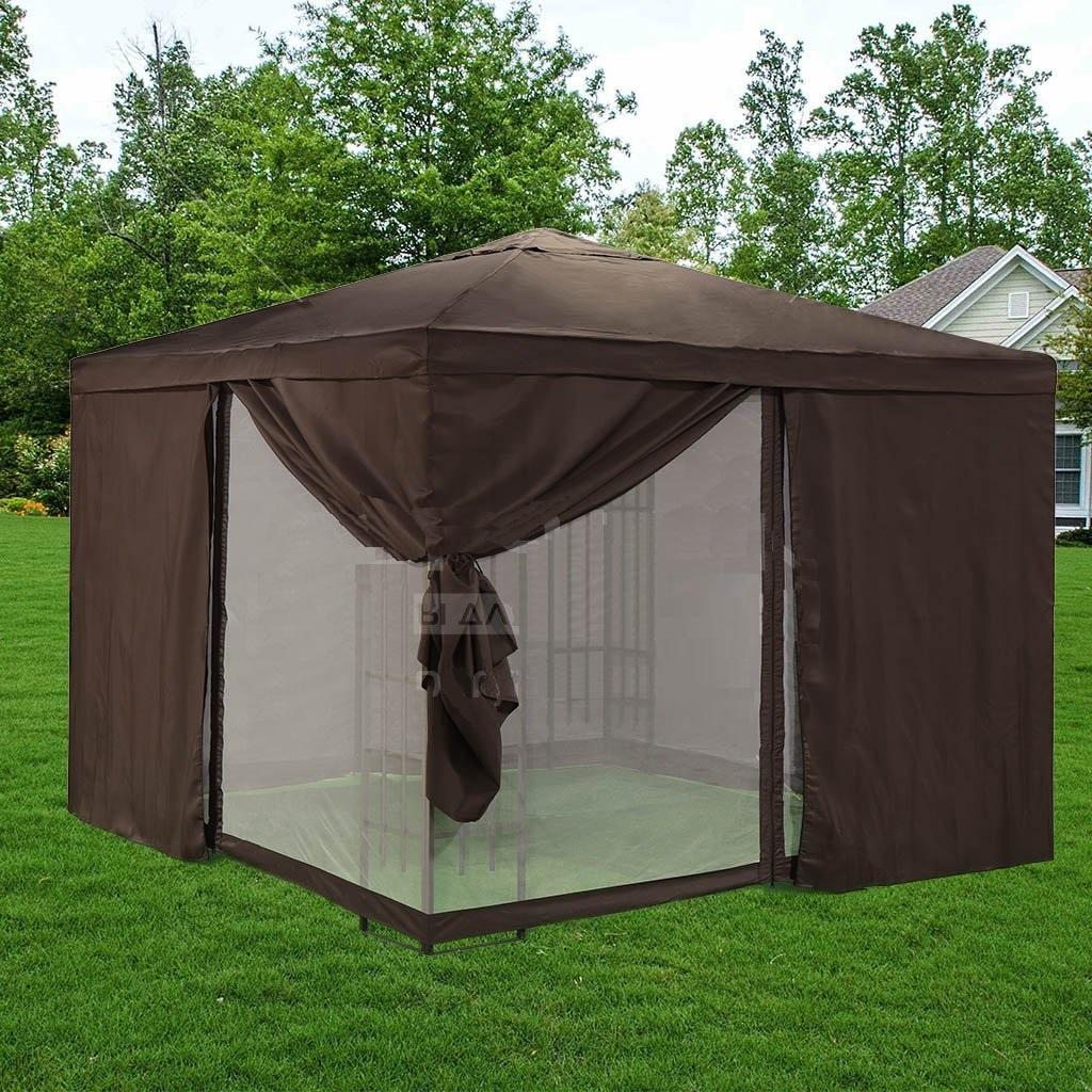 Садовые шатры, способ применения