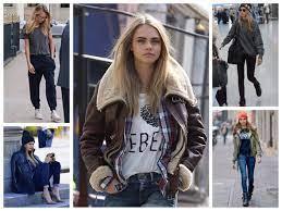 Уличный стиль в зимней одежде